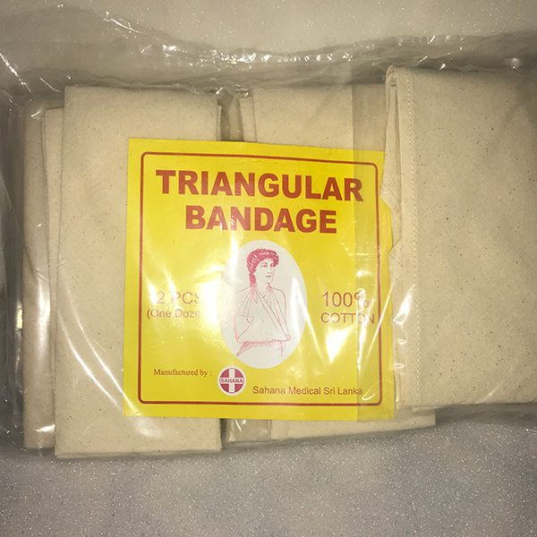 Triangular Bandage by Sahana Medical Enterprises