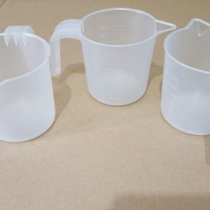 Measuring Cup 300ml Clear by Sahana Medical Enterprises