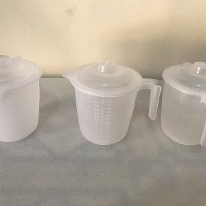 650 milliliter(ml) Measuring Cup with LID by Sahana Medical Enterprises