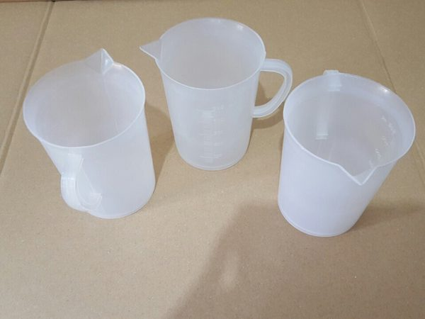 Measuring Cup 500ml Clear by Sahana Medical Enterprises